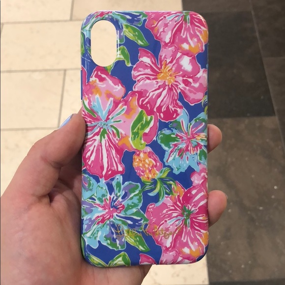 best loved 70718 529ef Lilly Pulitzer iPhone X case